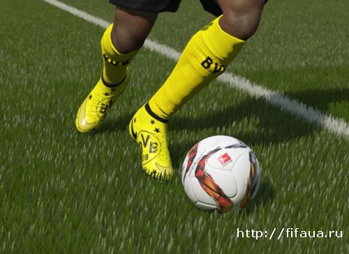 FIFA 16 Aubameyang Nike Superfly Special BVB Edition by patzor