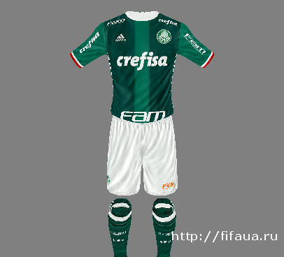 SE Palmeiras Adidas 16-17 KITS HD by MateusGuedes