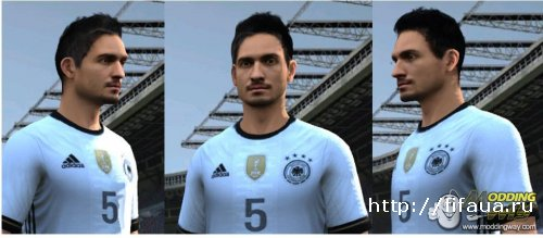 Hummels Euro 2016 Face (on Request)