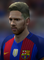 Messi New hair style FIFA14