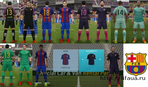 FC Barcelona Kitpack 16/17 by RON69