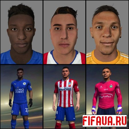FIFA 2015 Faces Converted 18