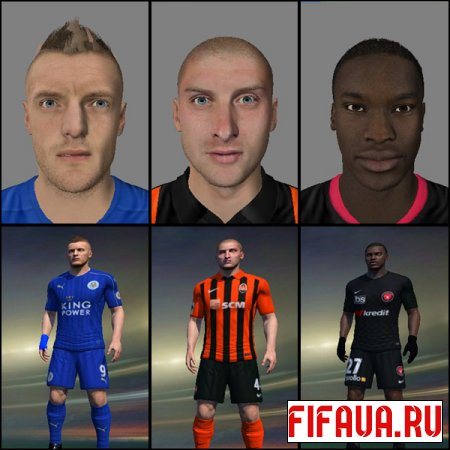 FIFA 15 Faces Converted 20