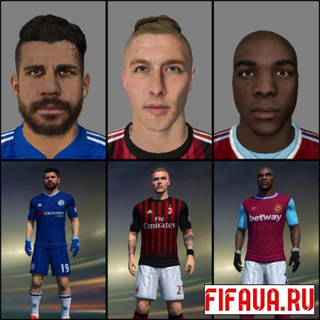 FIFA 15 Faces Converted 19
