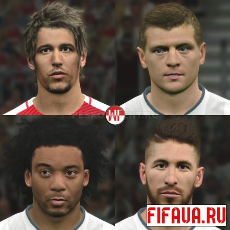 PES 17 Real Madrid Facepack