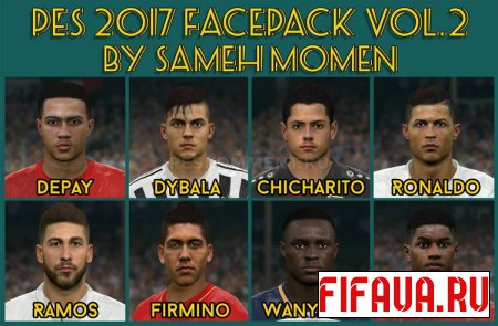 PES 2017 Facepack vol. 2 от Sameh Momen