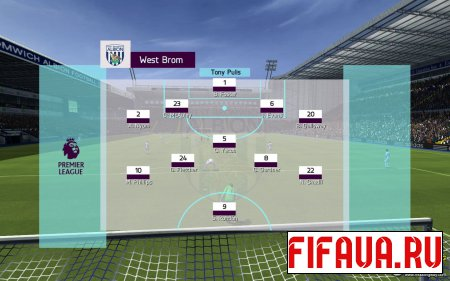 FIFA 14 Premier League 16/17 Popups [Lineups Update