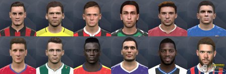 International facepack PES2017 №5