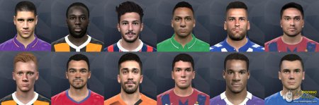 International facepack PES2017 №7 by Andrey_Pol & GONDURAS2012