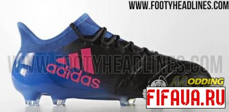 Бутсы Adidas X16.1 Leather blue blast by patzor