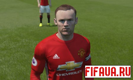 Wayne Rooney Face - 17 To 15 Conversion