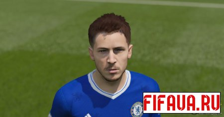 Edin Hazard face - 17 To 15 Conversion