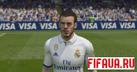 Gareth Bale face - 17 To 15 Conversion