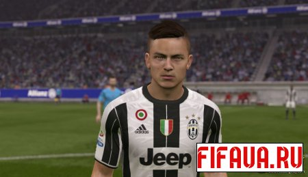 Paulo Dybala Face - 17 To 15 Conversion