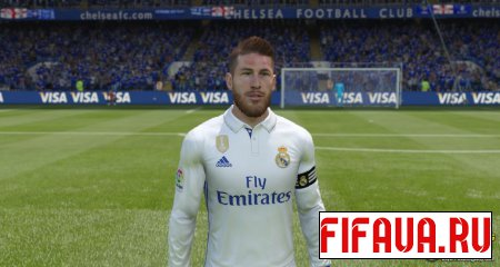 Sergio Ramos Face -17 to 15 conversion