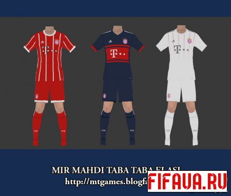 Bayern Munich 17-18 vol 1.2 Pes 2017 by MTG