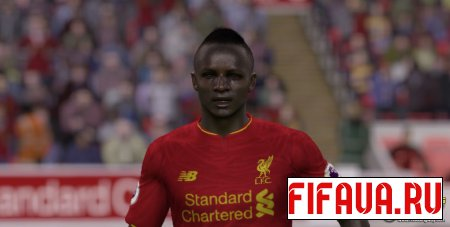 Sadio Mane face -17 to 15 conversion