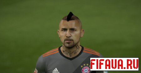 FC Bayern facepack - 17 to 15 conversion