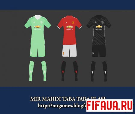 Manchester United 17-18 Pes 2017 by MTG