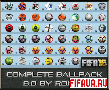 FIFA 16 Complete Ballpack 8.0 by Ron69