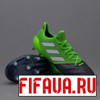 FIFA 14 Adidas Ace 17.1 Leather - Solar Green - Core Black - White