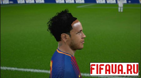 Neymar black hair with headband