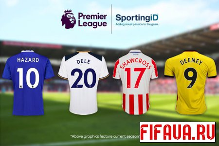Premier League exclusive kitnumbers 17-18