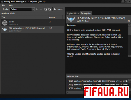 Frosty Mod Manager v1.0.3 alpha 4