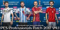 PES 18 Kit Pack V4.0 For Smoke Patch X15