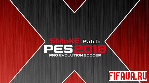 PES 2018 Smoke patch X17