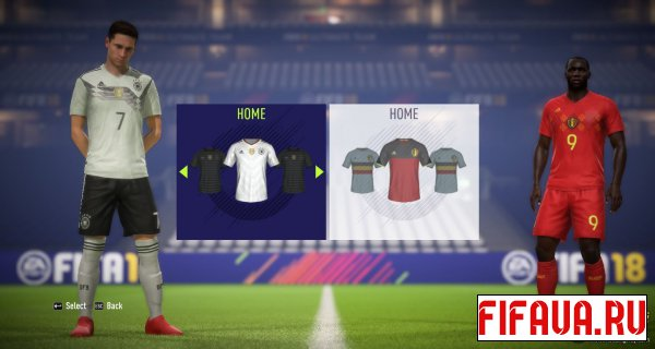 FIFA 18 National Kits Pack AIO