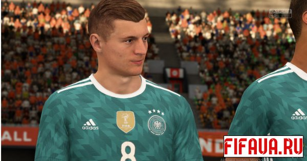 Germany Away  для FIFA 2108