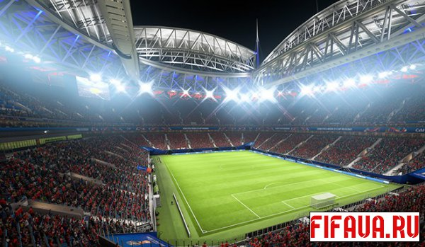 "FIFA 14 ""WC18 - Saint Petersburg Stadium [127]"""