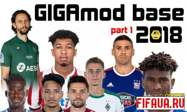 FIFA 2015 2015 GIGAmod 2018 BASE part1