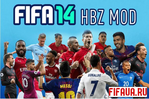 HBZ Career Mode Mod v2.20 для FIFA 14