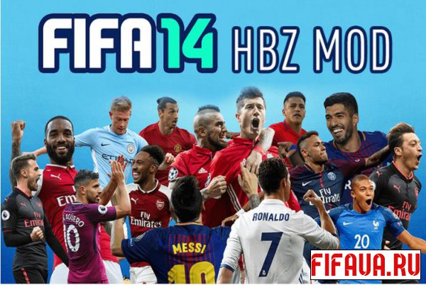 FIFA 14 HBZ Career Mode Mod v2.30 и v2.31
