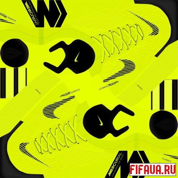 FIFA 16 бутсы Nike Mercurial Superfly VI-Volt,Black